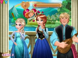 Anna de Frozen Beija Kristoff - screenshot 3