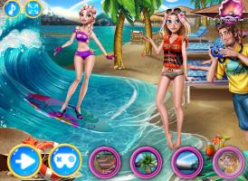 Anna e Elsa Surfando - screenshot 3