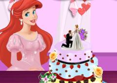 Ariel Decora Bolo de Casamento