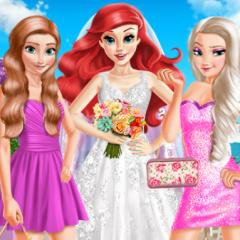 Jogo Ariel Vestida de Noiva