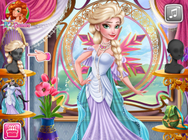 Arrume Elsa de Estilo Vintage - screenshot 2