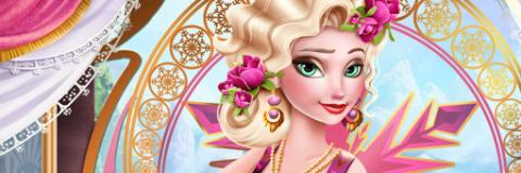 Arrume Elsa de Estilo Vintage