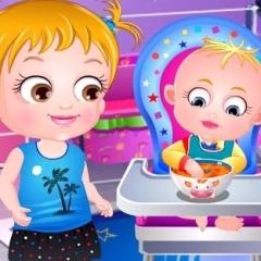 Jogo Baby Hazel Diversão na Cozinha