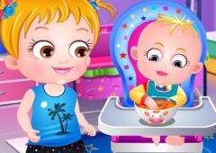 Baby Hazel Diversão na Cozinha