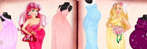 Barbie e Ariel: Princesas Grávidas