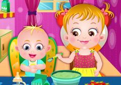 Bebê Hazel Babá do Irmão