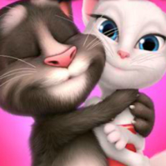 Jogo Beijo de Tom e Angela