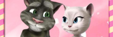 Beijo de Tom e Angela