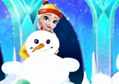 Brinque na Neve Com Princesas Disney