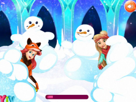 Brinque na Neve Com Princesas Disney - screenshot 3