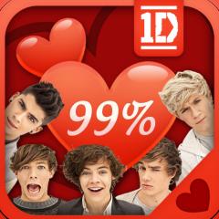 Jogo Calculadora do Amor One Direction