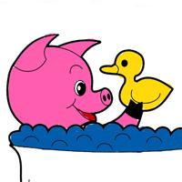 Jogo Colorir Livro de Animais