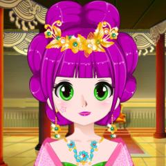 Jogo Crie um Avatar de Princesa Chinesa
