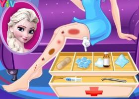 Cuide das Pernas de Elsa - screenshot 1