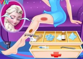 Cuide das Pernas de Elsa - screenshot 2