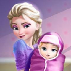 Jogo Elsa Dá à Luz