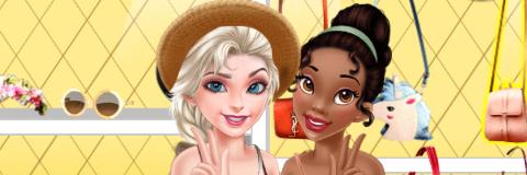 Elsa e Tiana: Férias de Verão