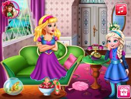 Elsa Enrolando Com Barbie - screenshot 1