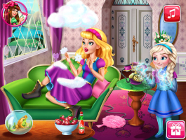 Elsa Enrolando Com Barbie - screenshot 2