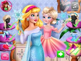 Elsa Enrolando Com Barbie - screenshot 3