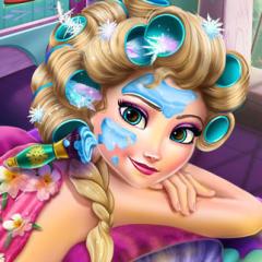 Jogo Elsa no Spa