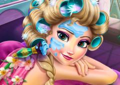 Elsa no Spa