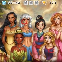 Jogo Encontre as Letras das Princesas
