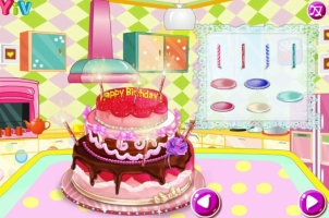 Faça Um Bolo de Aniversário com Barbie - screenshot 2