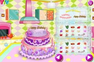 Faça Um Bolo de Aniversário com Barbie - screenshot 3