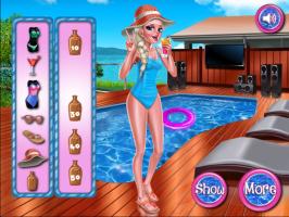Princesa Elsa: Festa na Piscina - screenshot 2