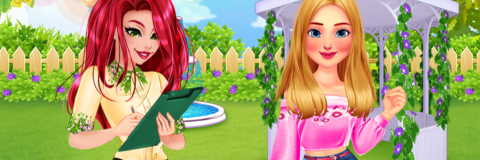 Limpe o Jardim da Barbie, da Elsa e da Ariel