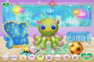 Limpe o Quarto do Polvo Bebê - screenshot 3