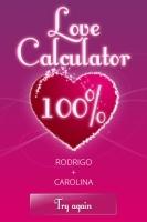 Love Calculator - screenshot 1