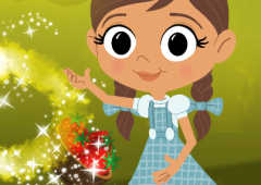Mágico de Oz: Dorothy prepara Bolachas