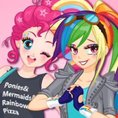 Jogo Maquie a Rainbow Dash e a Pinkie Pie