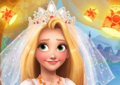 Maquie e Vista Rapunzel Noiva