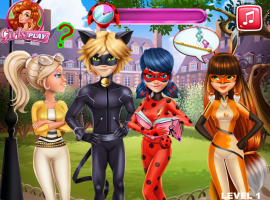 Jogos De Miraculous Ladybug Beija Cat Noir No Meninas Jogos