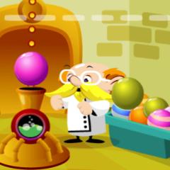 Jogo Professor Bubble
