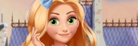 Rapunzel na Escola das Princesas
