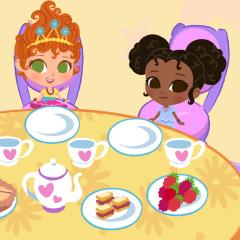 Jogo Sirva o Chá das 5 com a Fancy Nancy