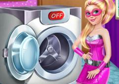 Super Barbie Lava as Roupas