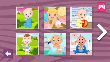 Sweet Babies Jigsaw - screenshot 1