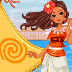 Jogo Viajando com a Princesa Moana