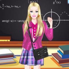 Jogo Vista Barbie Colegial