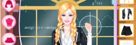 Vista Barbie Colegial