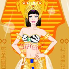 Jogo Vista Barbie Princesa Egípcia