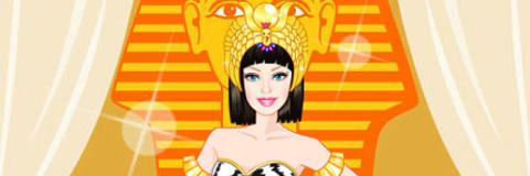 Vista Barbie Princesa Egípcia
