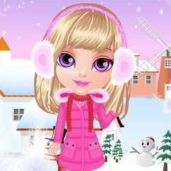 Jogo Vista Bebê Halen no Inverno