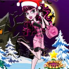 Jogo Vista Draculaura no Natal