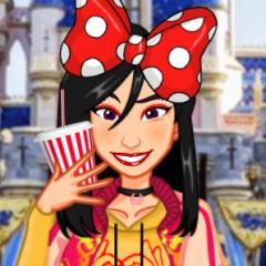 Jogo Vista e Maquie 4 Princesas na Disneylândia